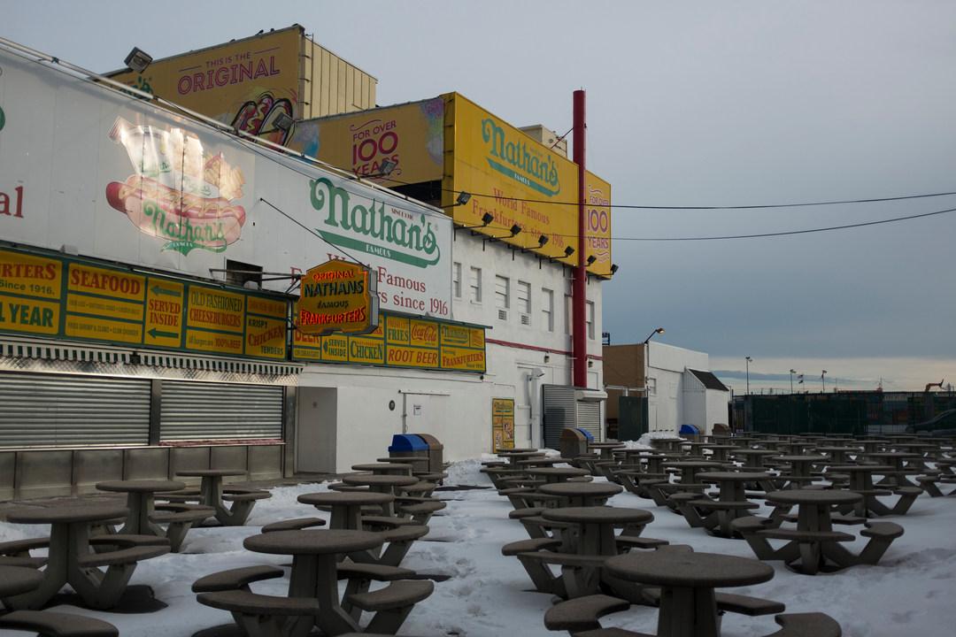 Nathan's Famous, Brighton Beach, Coney Island