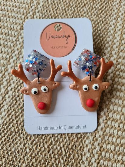 Reindeer • Multi Glitter
