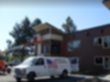 American Painting and Design truck in Bend, OR