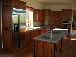 Cabinet Refinishes in kitchen in Bend, OR