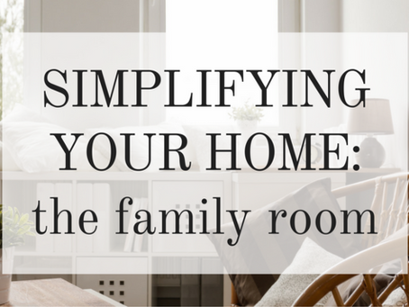 Let Maid OK Simplify your Family Room