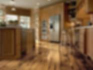 Hardwood Refinishing services and repair at Kibuk Construction