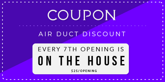 Coupon for Maid OK Air Duct Discount