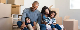 Family move at Meridian Moving. Local moving services in Castle Rock.