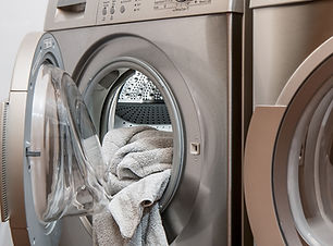 Image of washer and dryer at Maid OK