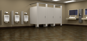 Restroom cleaning for commercial and residential