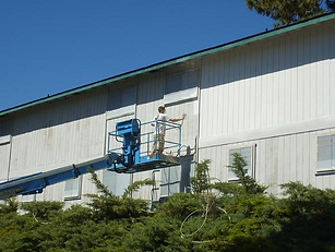 Exterior residential man painting in Bend, OR