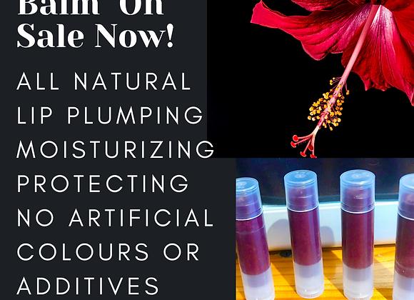 Hibiscus Lip Plumping Balm