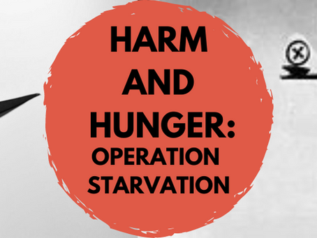 Harm and Hunger: Operation Starvation