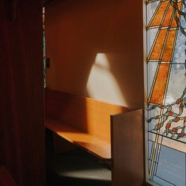 "Sanctuary Light, Digital Photography, 24""x24"""