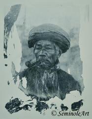 Vintage Seminole Man