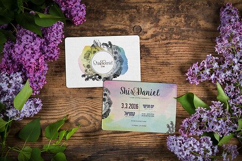 Wedding Invitation - Romantic Collection 1