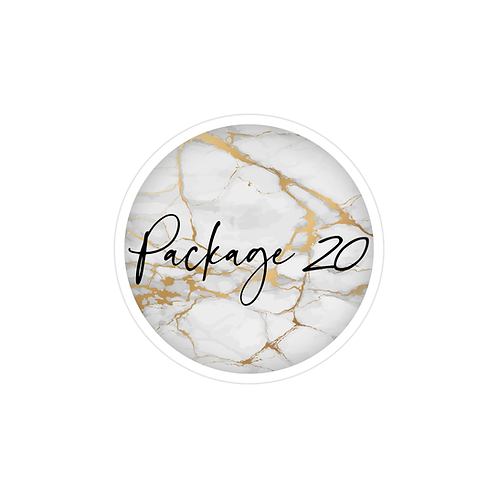 חבילה  20  |  עיצוב  פוסטים לאינסטגרם