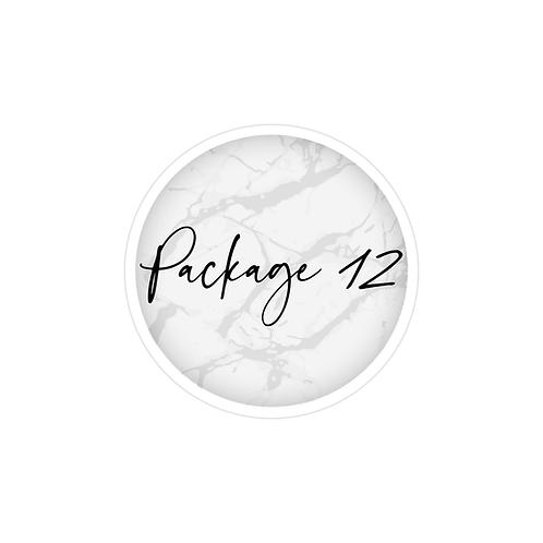 חבילה  12  |  עיצוב פוסטים לאינסטגרם