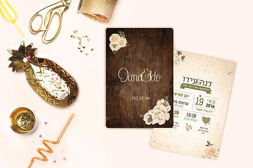Wedding Invitation - Romantic Collection 6