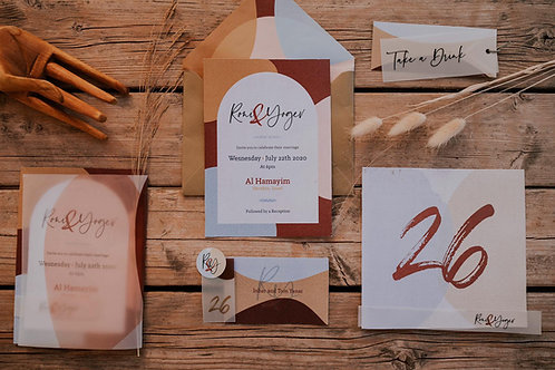 Wedding Branding Package | חבילת מיתוג חתונה