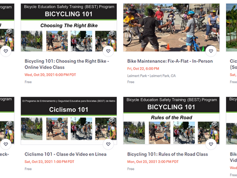 Metro Bicycle Education Safety Training (BEST) Program