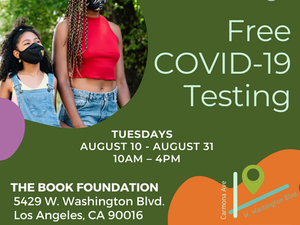 FREE POP-UP COVID-19 Testing Site in Mid-City w/ CORE Response