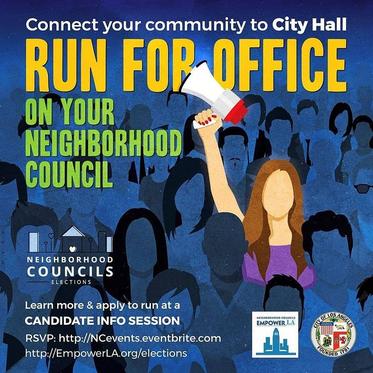 Neighborhood Council Elections!