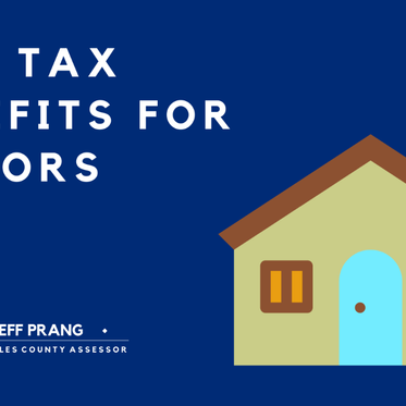 New property tax benefit for seniors & city survey for businesses