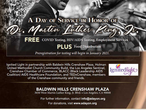 A Day of Service in Honor of Dr. Martin Luther King, Jr.
