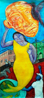 """Yellow Yemaña"" by Pat Payne"