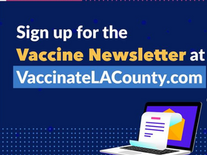 Vaccination info & standby list sign up