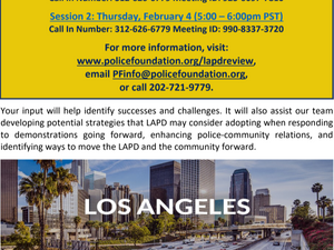 Looking for LAPD-protest-interaction stories