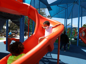 Vineyard Rec Center has a new playground!