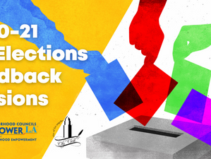 Elections feedback sessions by the City
