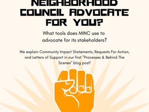 How can the Neighborhood Council advocate for you?