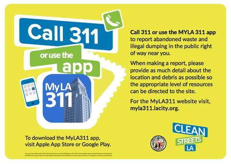 Call 311