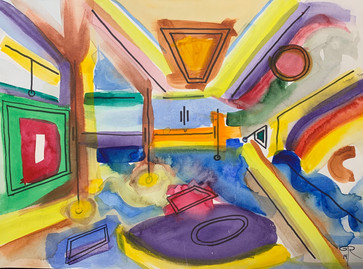 """""""The Rec Room"""" by George Richman"""