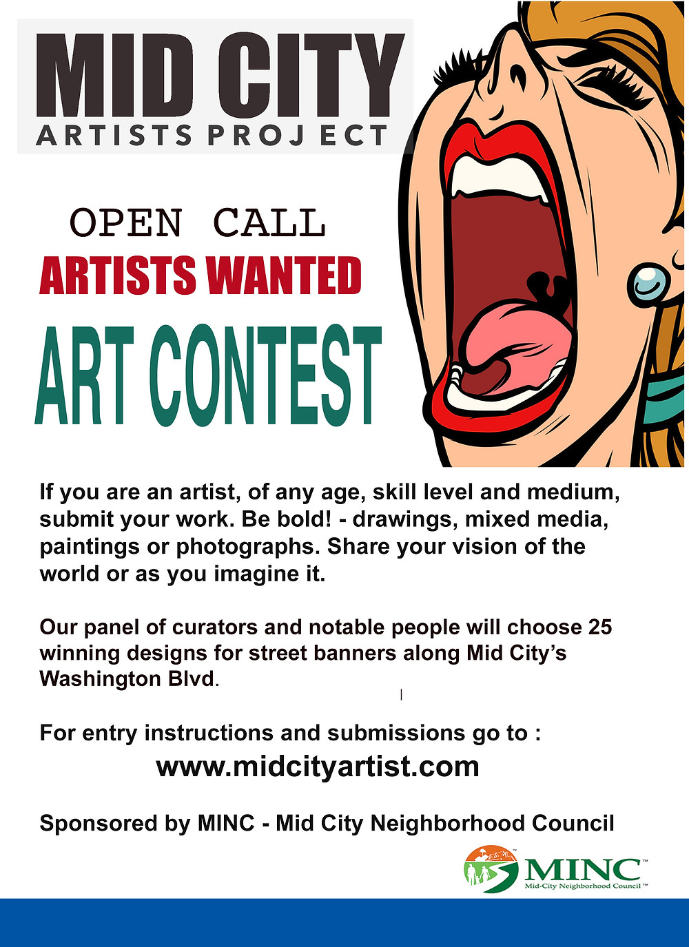 Mid City LA Artists Project Contest
