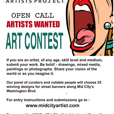 Mid City Artist Project CONTEST!
