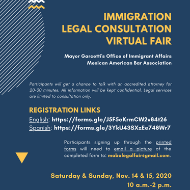Mayor's office providing free immigration lawyer consultations