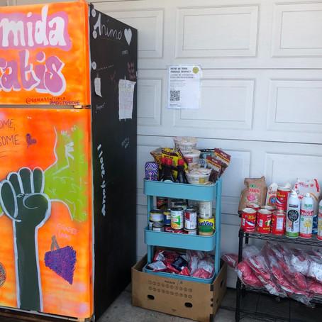 Take advantage of our community fridge!