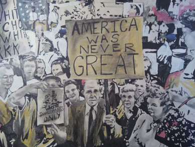 """America Was Never Great"" by JeRon Bransen Strozier"