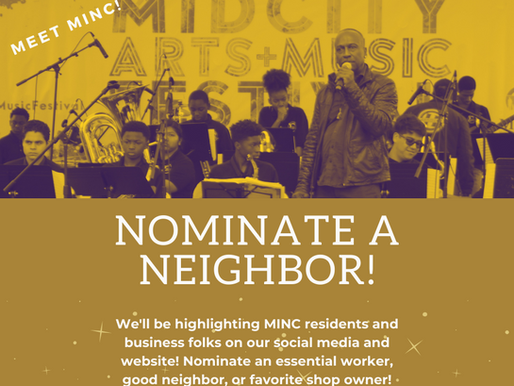 "Nominate people for ""Meet MINC""!"