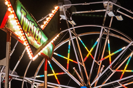 """Washington Blvd Street Carnival #3"" by Paul Papanek"