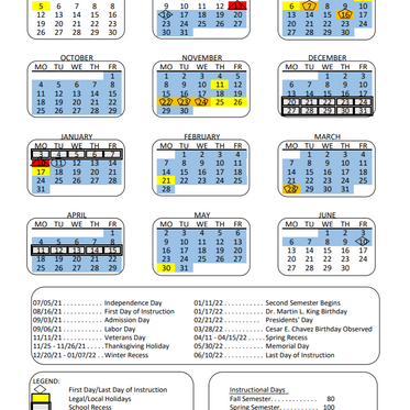 LAUSD 2021-22 Calendar approved