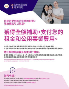 CA COVID-19 Rent Relief Flyer_CHINESE 081821.png