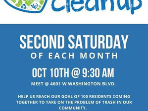 Join Mid City Clean-ups!
