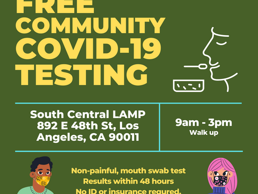 Covid-19 testing update