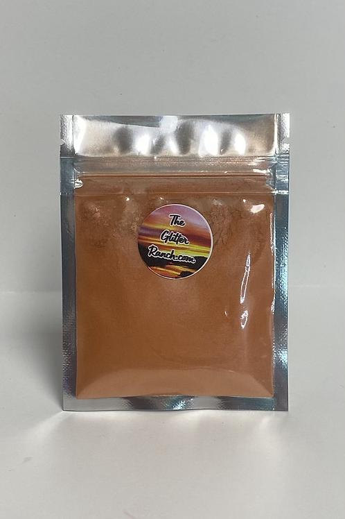 Edible, Food Grade Mica Shimmer- Rose/Orange Shift