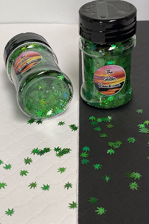 Holographic Weed Shapes