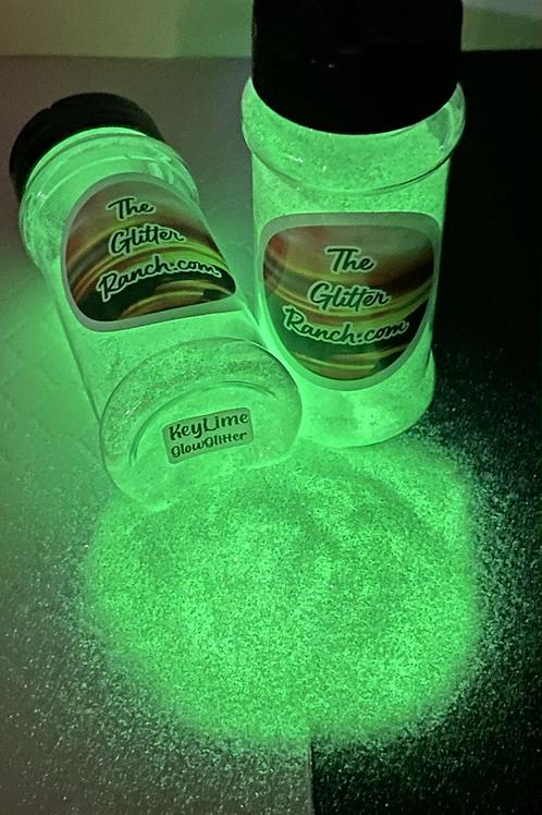 Key Lime Glow Glitter