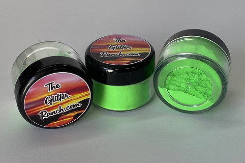 Lime Green Glow Powder