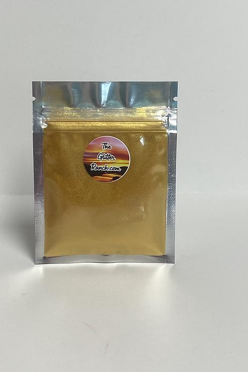 Edible, Food Grade Mica Shimmer--Gold