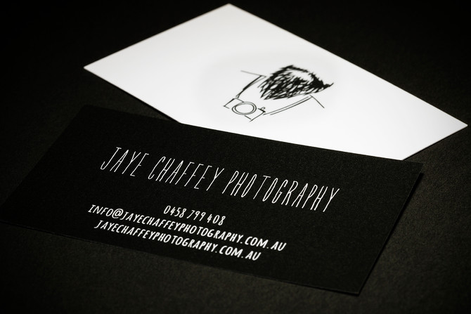 New Business Cards.